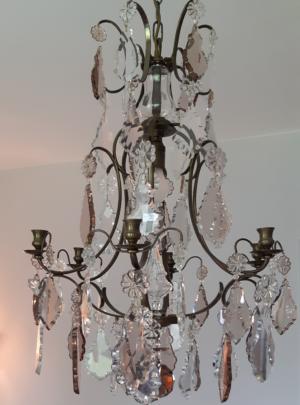 Kristallkrona barock