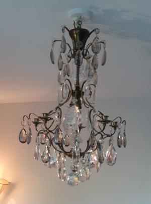 Barock kristallkrona